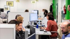 Oficinas de la Agencia Tributaria en Valladolid.