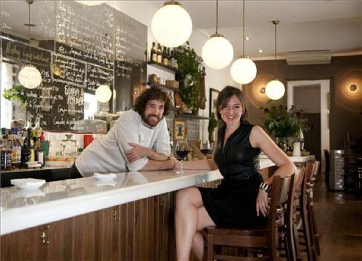 Sergio Andreu y Sofia Boixet. Foto: Xavier González