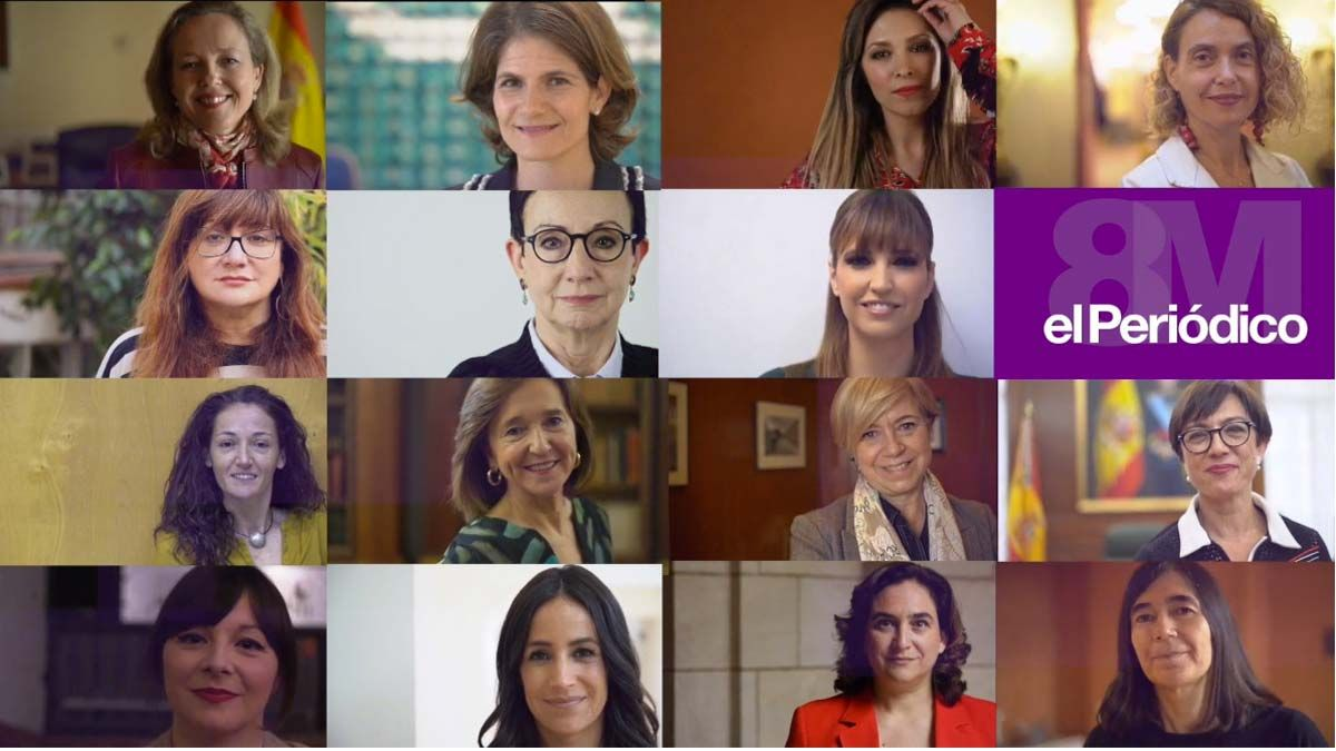'Nosotras': 15 mujeres en pie