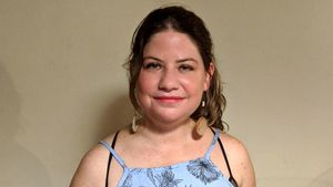 La escritora ecuatoriana Daniela Alcívar Bellolio.