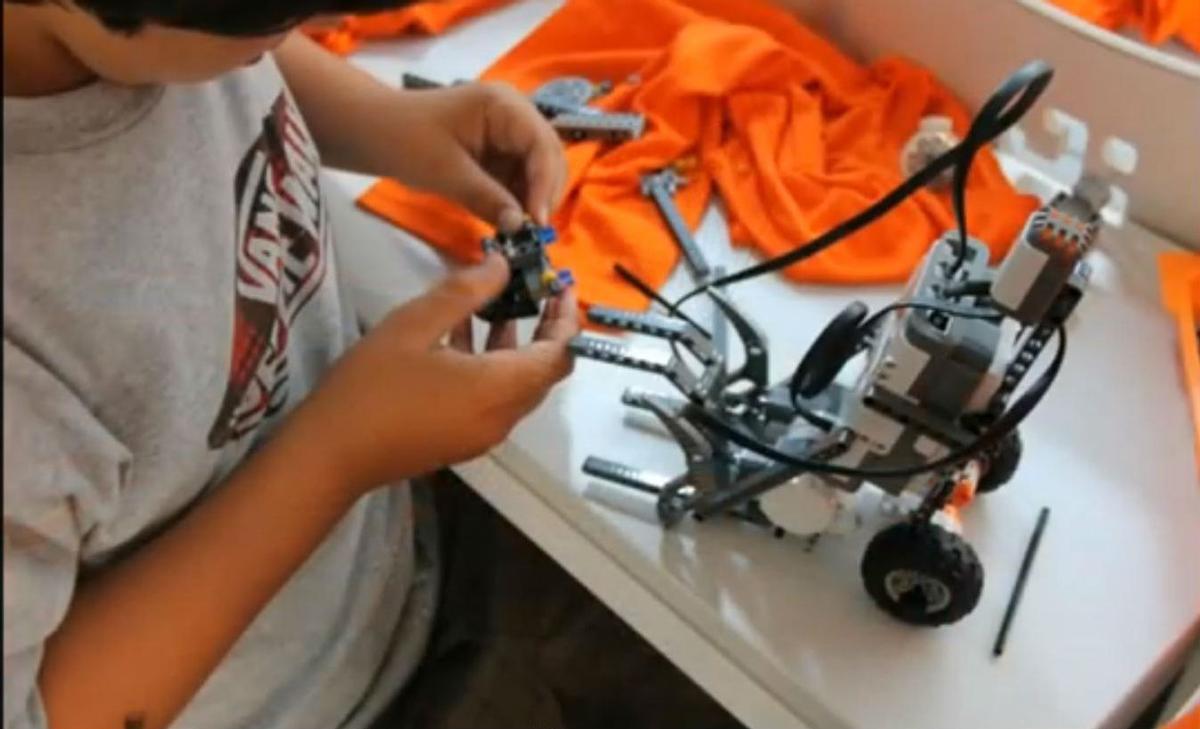 El campus de robótica de ClauTIC del verano del 2013