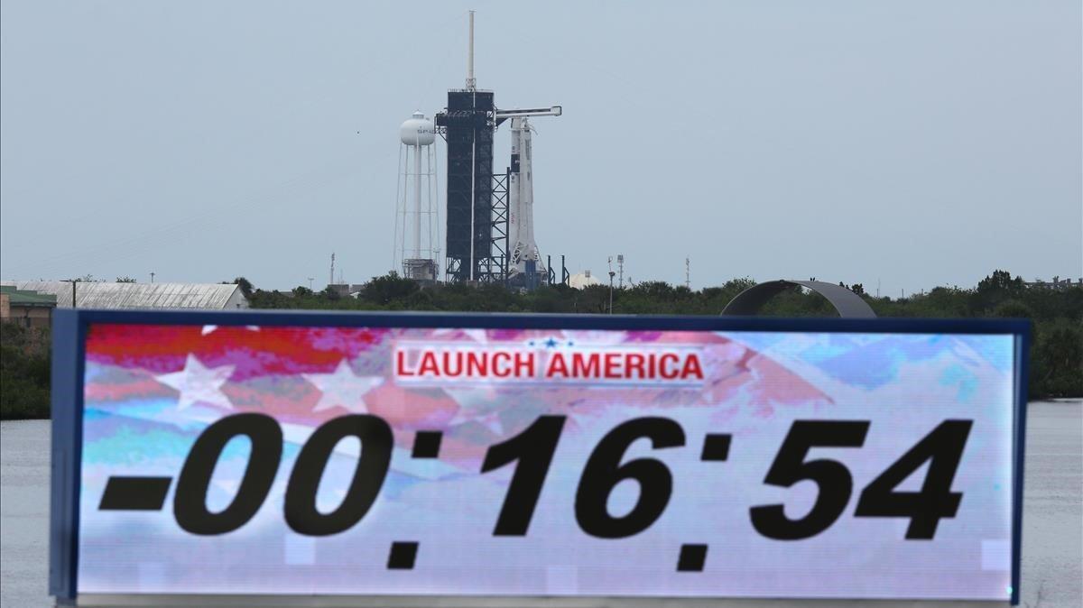 El clima obliga a posposar el llançament del coet de la NASA i SpaceX a l'espai