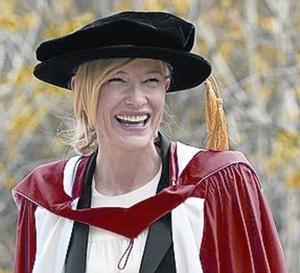 Blanchett torna a la universitat