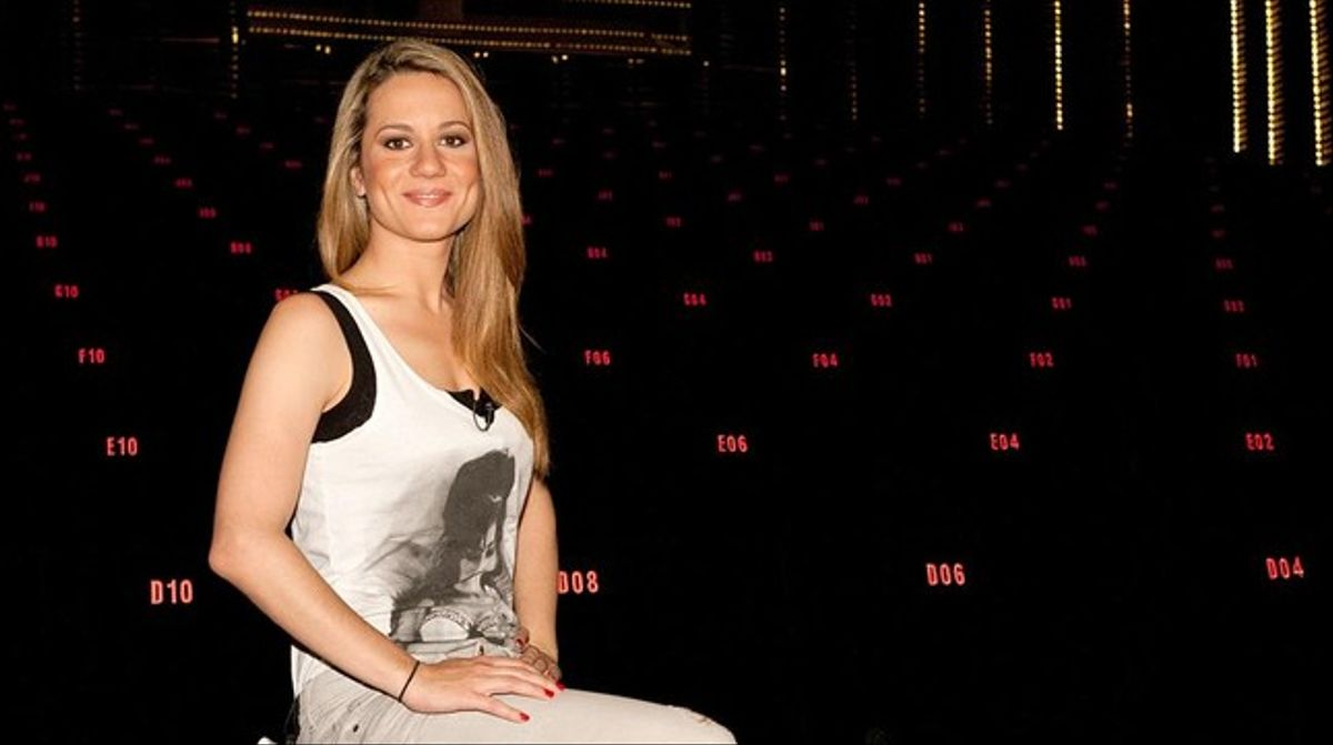 Henar Álvarez, presentadora del programa 'Días de cine' (La 2).
