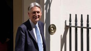 El exministro de Economia británico, Phillip Hammond.