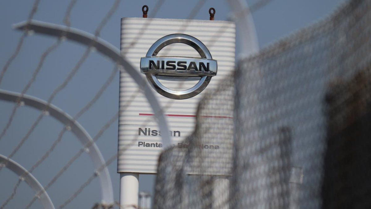 Fabrica de la Zona Franca de Nissan.