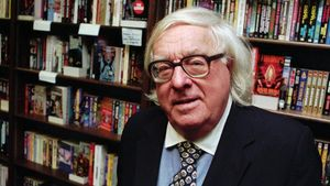Ray Bradbury en Cupertino, California, en 1997.