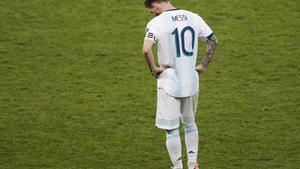 Lionel Messi y la selección argentina eliminados de la Copa América 2019.