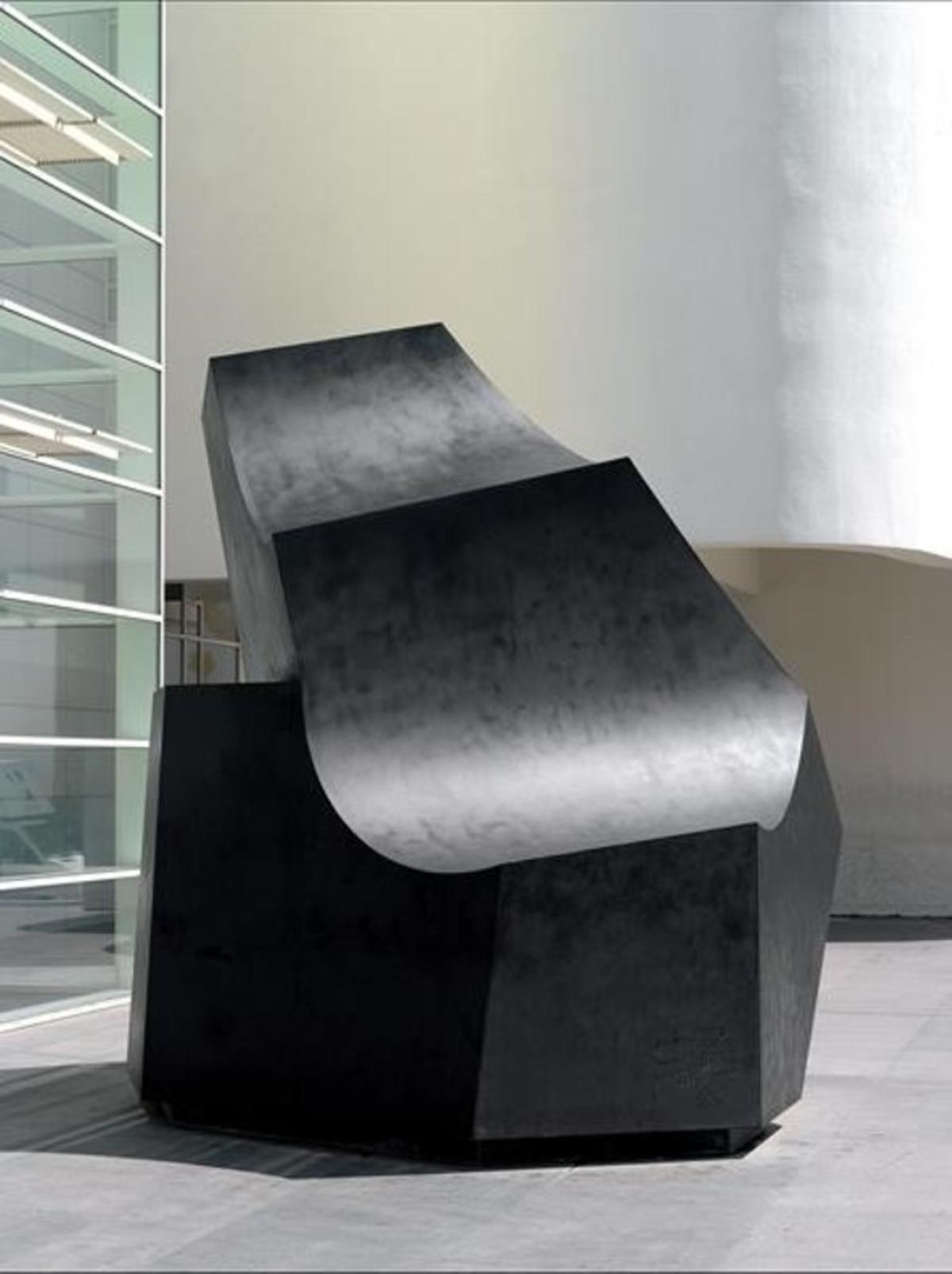 'La ola' (1998), de Jorge Oteiza, perteneciente a la colección del Macba.
