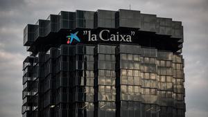 Sede de La Caixa en Barcelona.