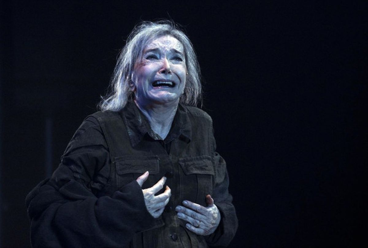 Núria Espert, premiada amb un premi Butaca com a millor actriu per 'El rei Lear'.