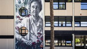 Mural en honor a la bioquímica española Margarita Salas