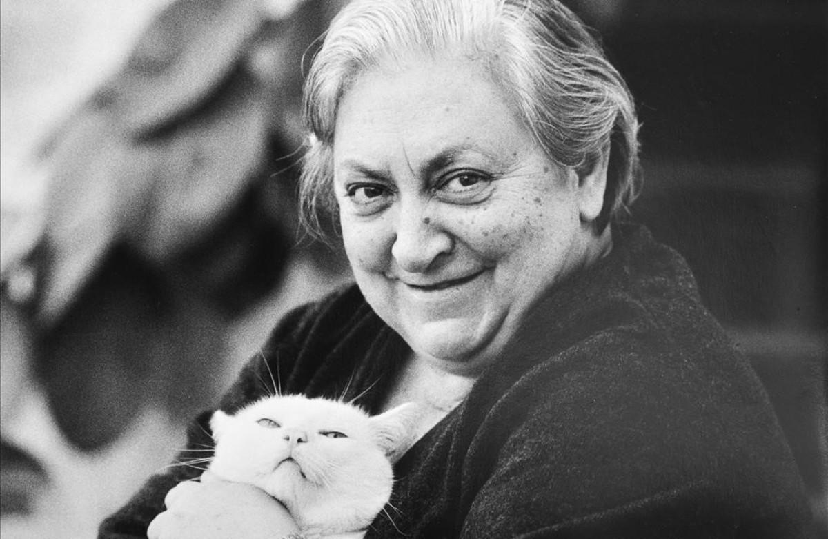 La escritora y política socialista Maria Aurèlia Capmany.