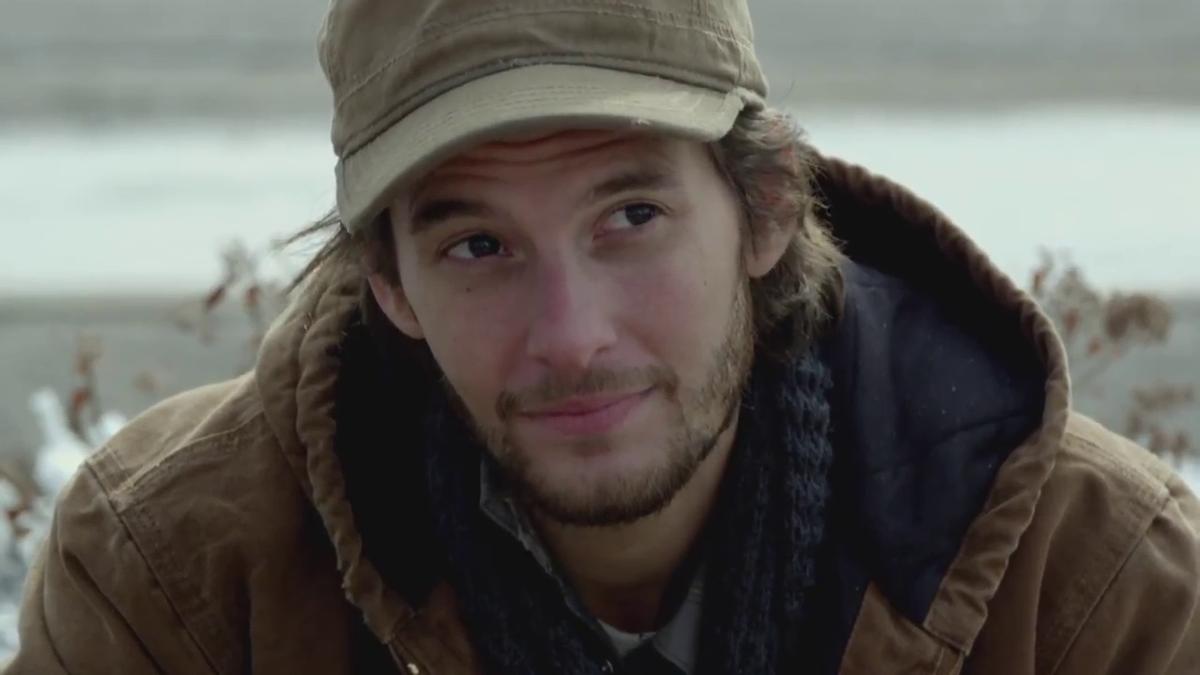 Ben Barnes, en un fotograma de la película 'Jackie y Ryan'