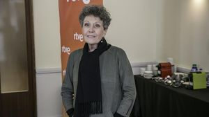 Rosa María Mateo, administradora única de RTVE, el pasado enero, en Barcelona.