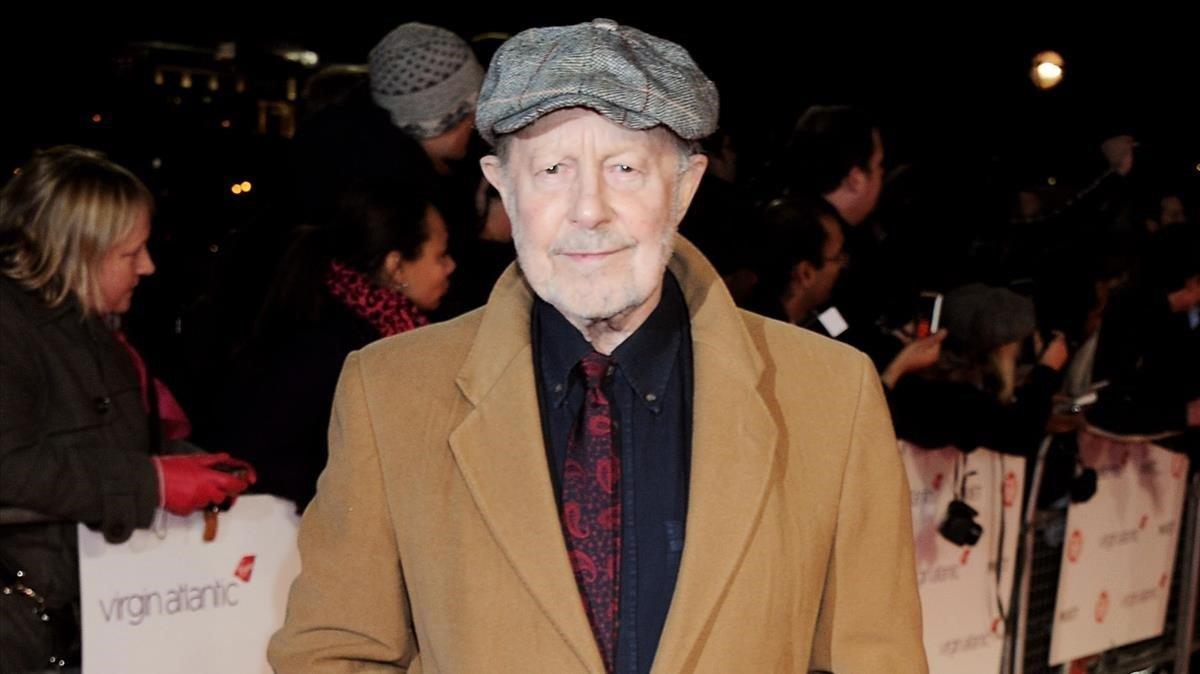 El director de cine Nicolas Roeg.