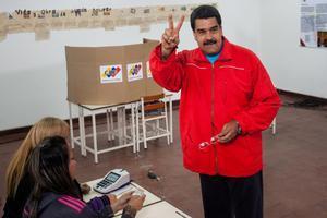 Maduro desestima las presiones de la Unión Europea por un aplazamiento de los comicios.