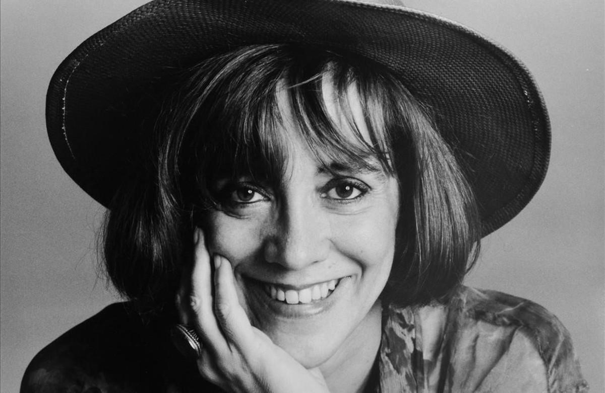La escritora Montserrat Roig.