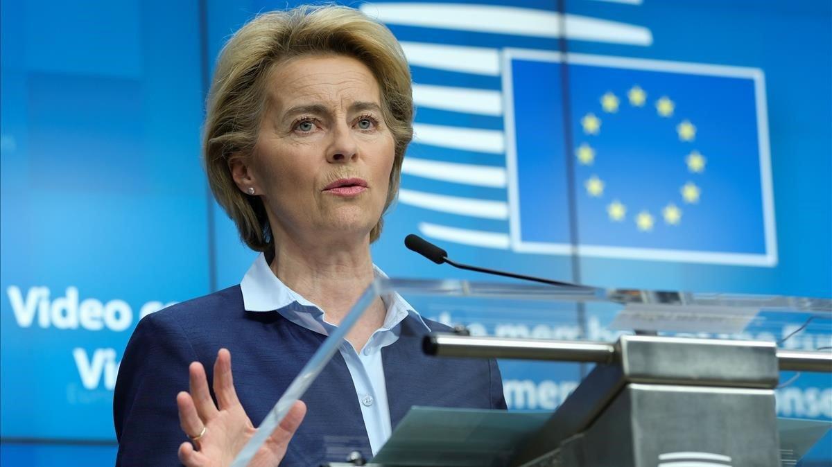 Els líders de la UE avalen la creació d'un fons de reconstrucció