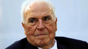 Helmut Kohl, en mayo de 2013.