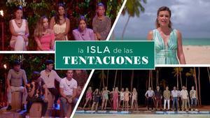 Algunas de las imágenes del adelanto de la tercera temporada de 'La isla de las tentaciones'.