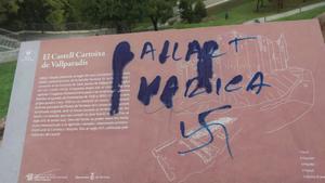 Pintada homófoba dirigida a Jordi Ballart, alcalde de Terrassa.