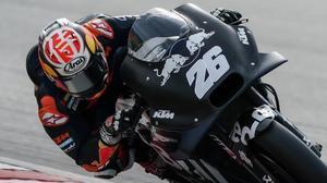 El catalán Dani Pedrosa, hoy, con su KTM 2020, ha demostrado que está haciendo un trabajo espectacular para mejorar la moto austriaca.
