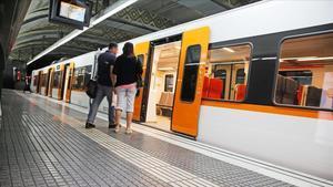 Pasajeros de Ferrocarrils de la Generalitat de Catalunya (FGC)