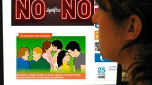 Página sobre educación sexual del Institut Català de la Salut.