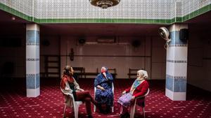 Encuentro en la mezquita de Camí de la Pau, en L'Hospitalet.