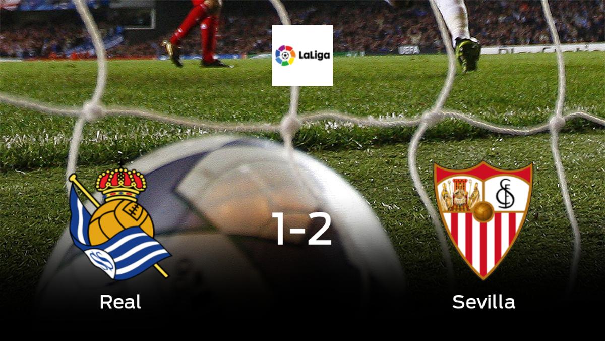El Sevilla suma tres puntos a su casillero frente a la Real Sociedad (1-2)