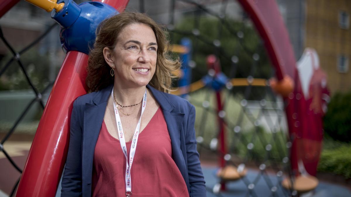 La psiquiatra Montse Dolz, este jueves.