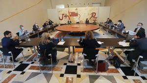 Reunión de los martes del Consell Executiu.
