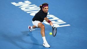 Federer, en Australia.