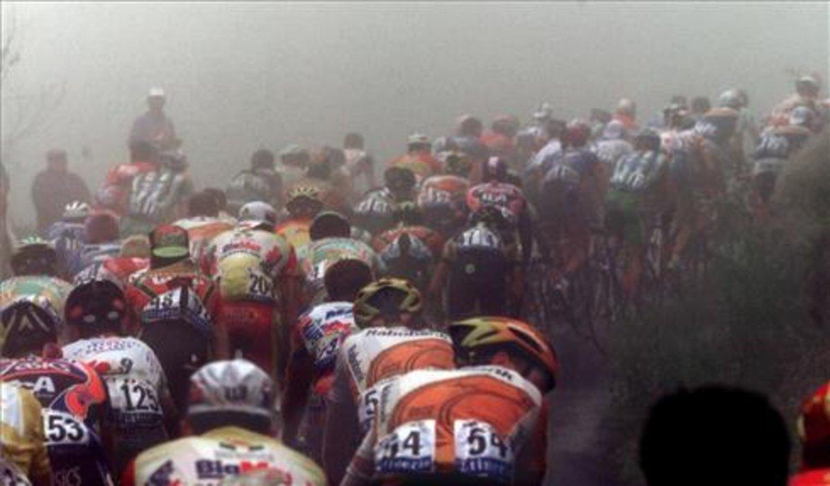 Etapa del Tour a su paso por el Tourmalet, en el 2001.