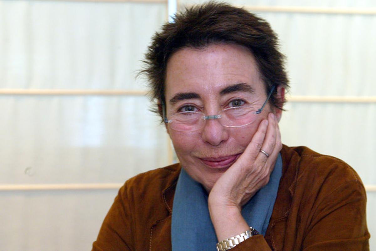 La periodista catalana Margarita Rivière, en una foto tomada en el 2005.