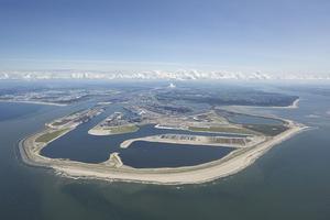 La ampliación del puerto de Róterdam.