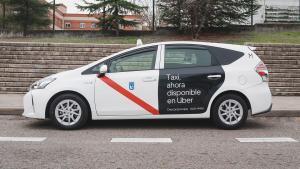 Uber integra el taxi de Madrid a la seva aplicació