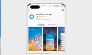 Nueva herramienta de búsqueda de aplicaciones en Huawei.