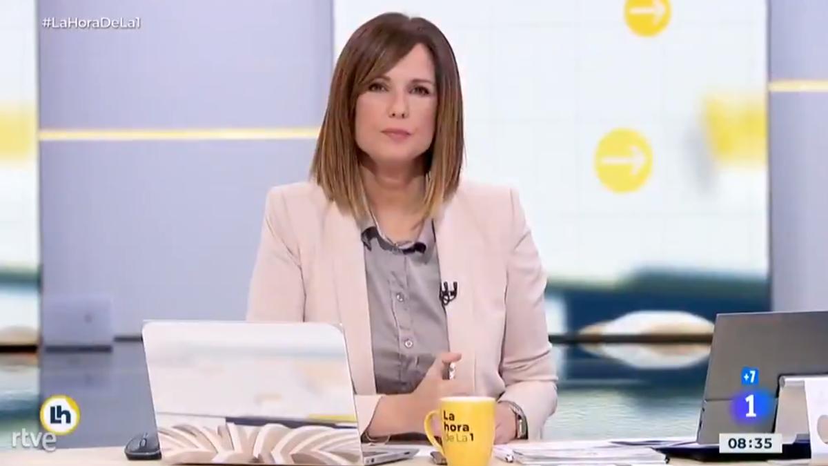 Mónica López en 'La hora de La 1'
