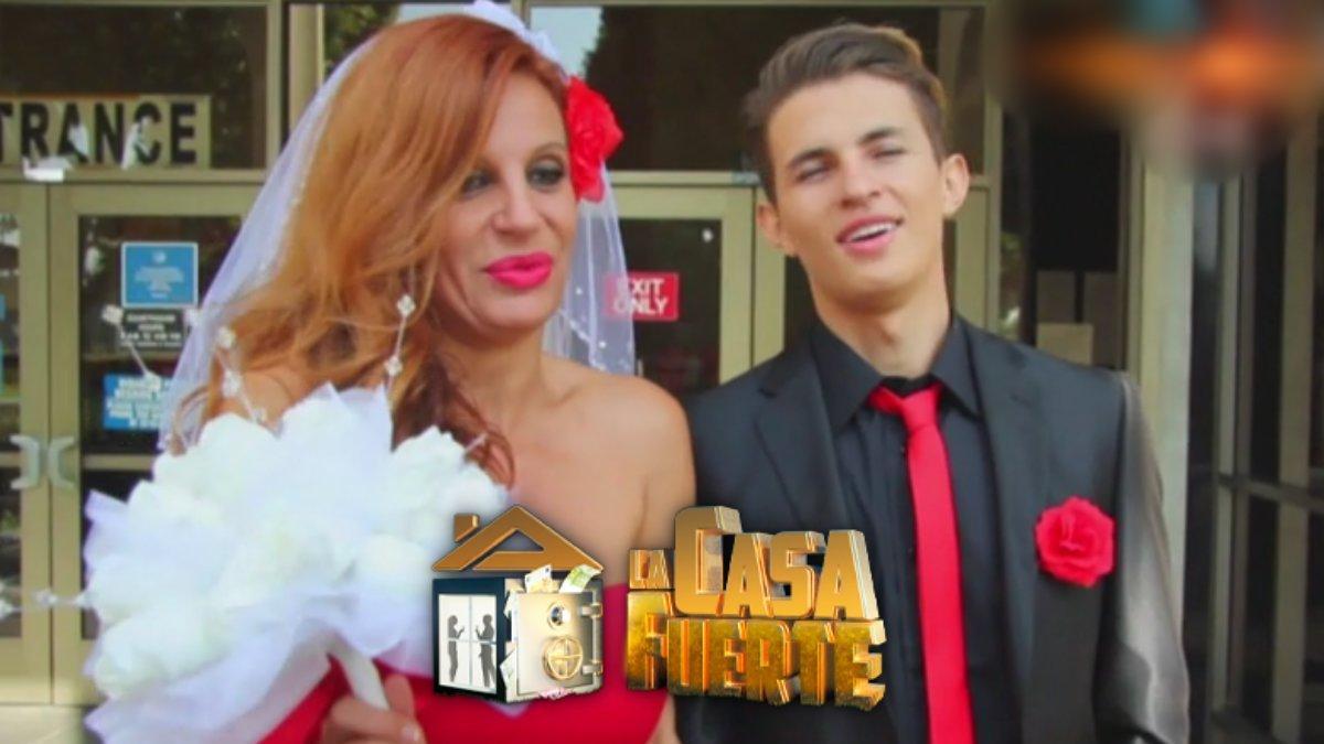 Sonia Monroy y su marido Juan Diego, nuevos concursantes de 'La casa fuerte'.