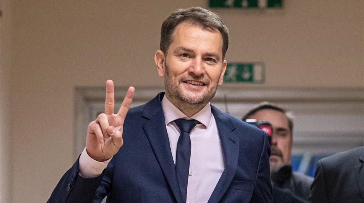 El conservador populista Igor Matovic