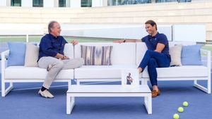 Bertín Osborne y Rafa Nadal en 'Mi casa es la tuya'.