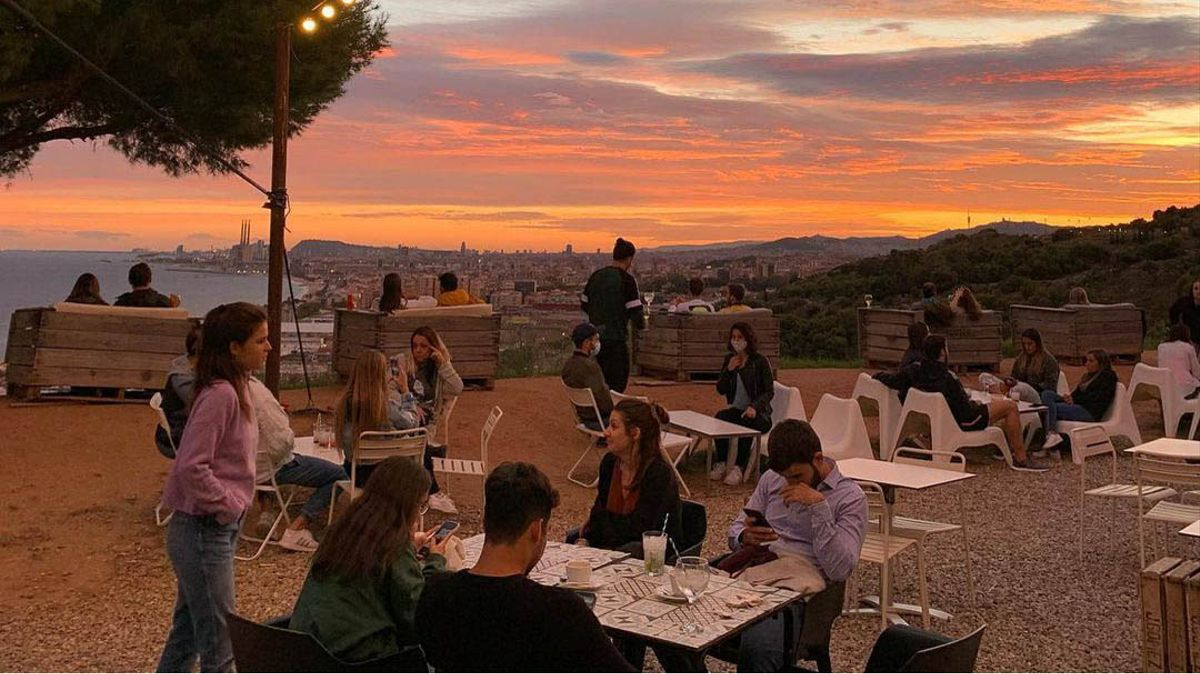 Un 'must' veraniego: el Panoramic Bar de Montgat.