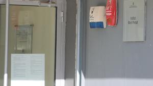 Plano detalle del sistema de seguridad del Instituto Mont Perdu de Terrassa