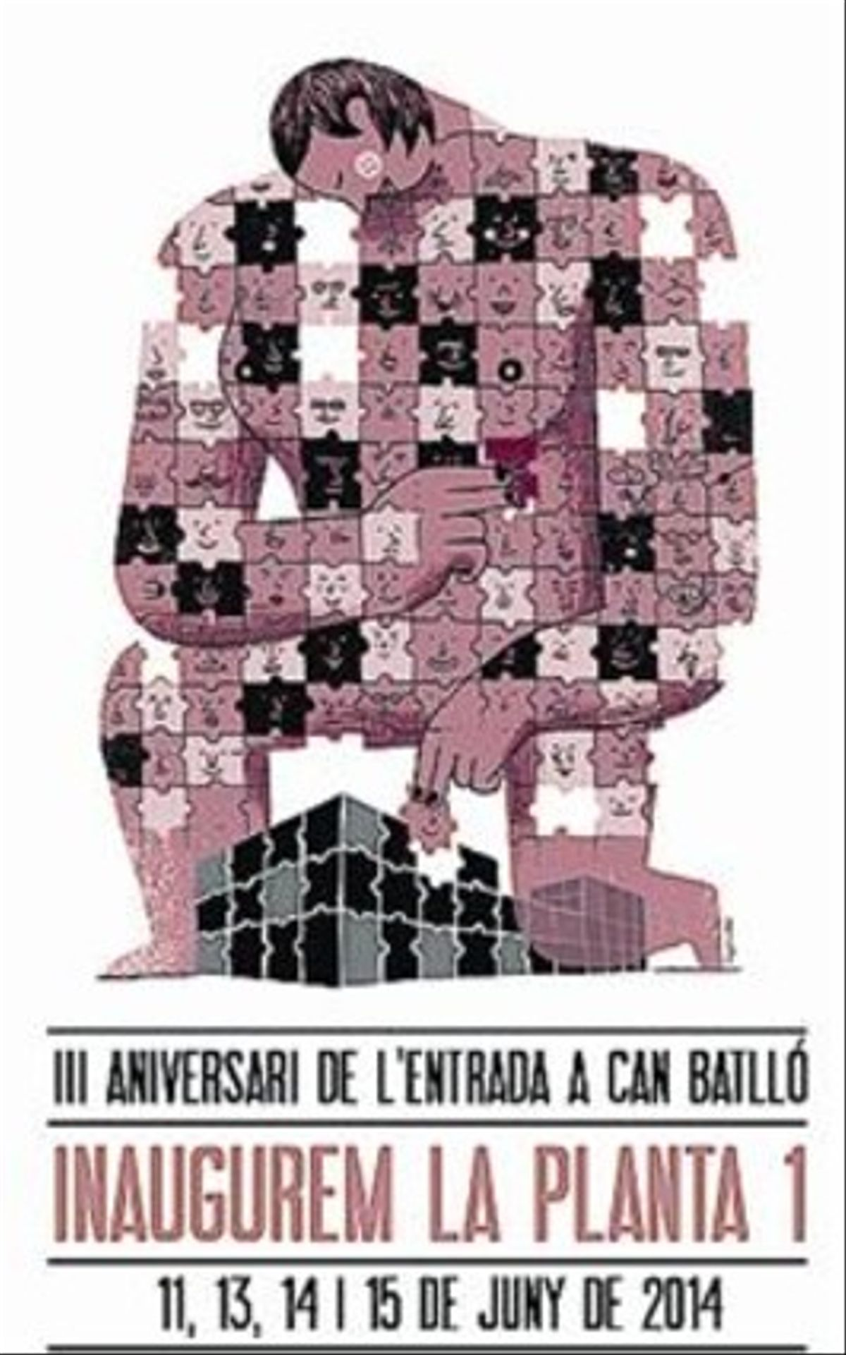 Cartel del tercer aniversario.