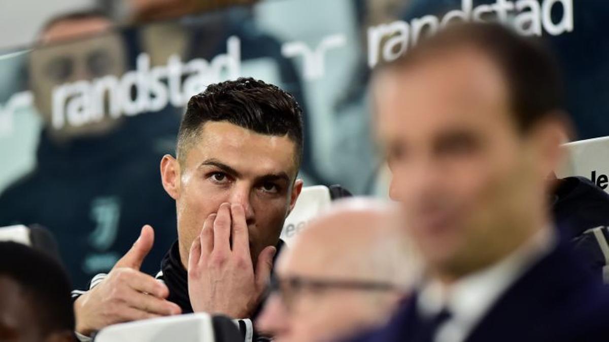 Ronaldo y Allegri.