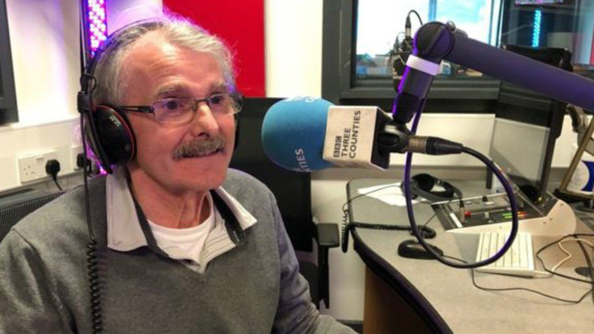 Deke Duncan, de 73 años, en la BBC Three Counties