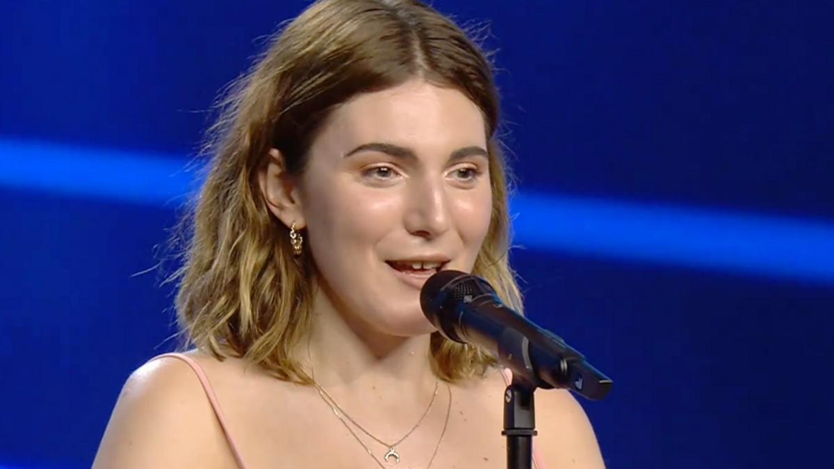 Nahia en el escenario de 'Got Talent 6'.