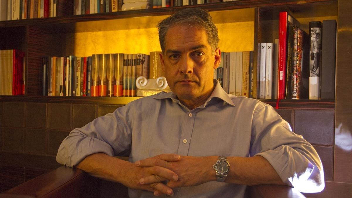 El escritor Philip Kerr, en el 2012